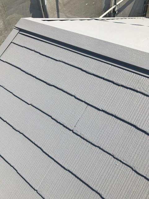 今回採用の塗料は、断熱塗料「ガイナ」<br /> 暑さ寒さ対策は当然、騒音や臭い対策にも効果がある優れものです!