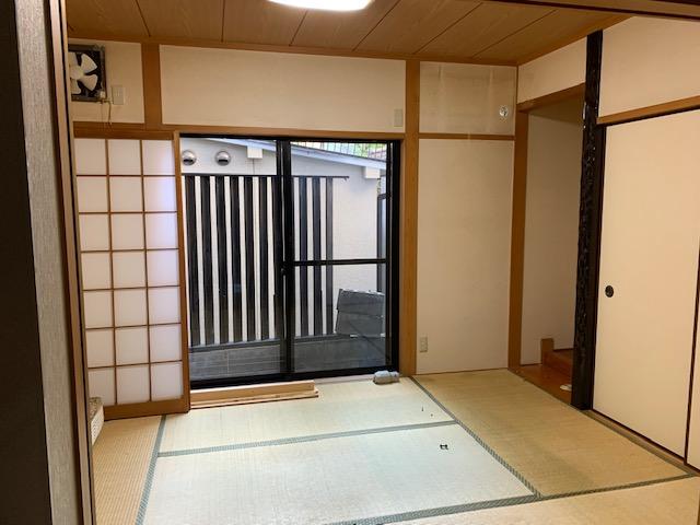 床の間付きの純和室。